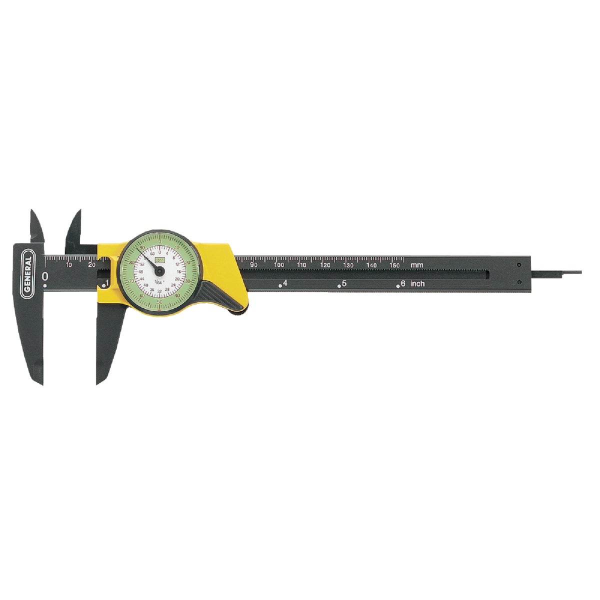 "6"" DIAL CALIPER - 142 by Gen Tools Mfg"