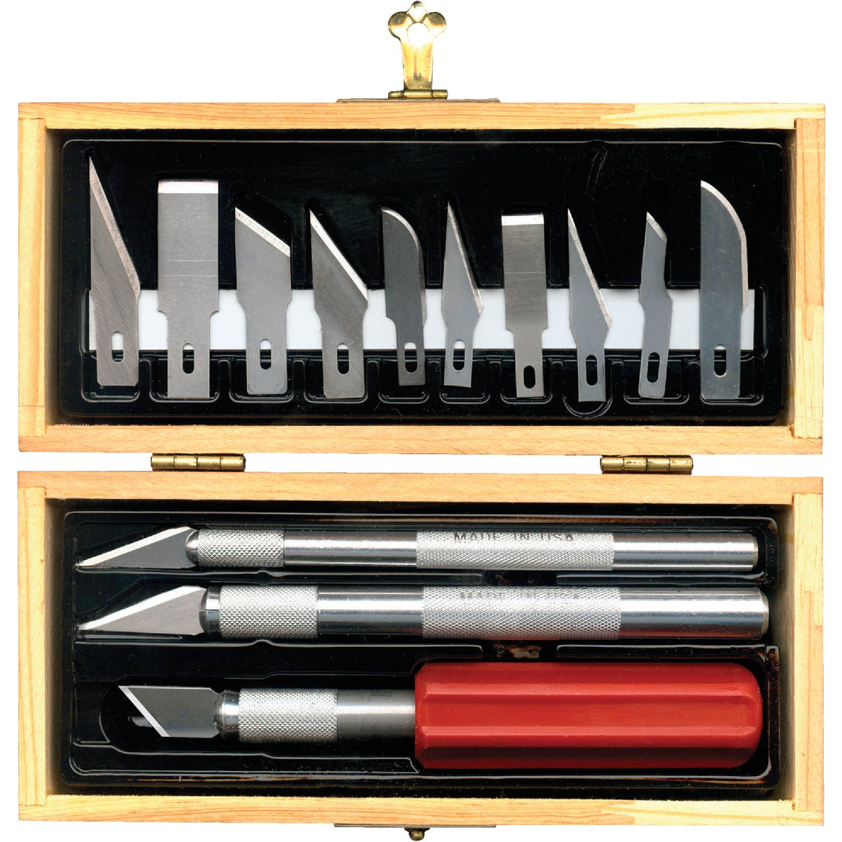 HOBBY KNIFE SET - 01-801 by Techni Edge Mfg Corp