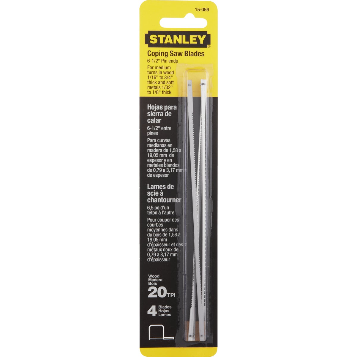 Stanley COPING SAW BLADE 15-059