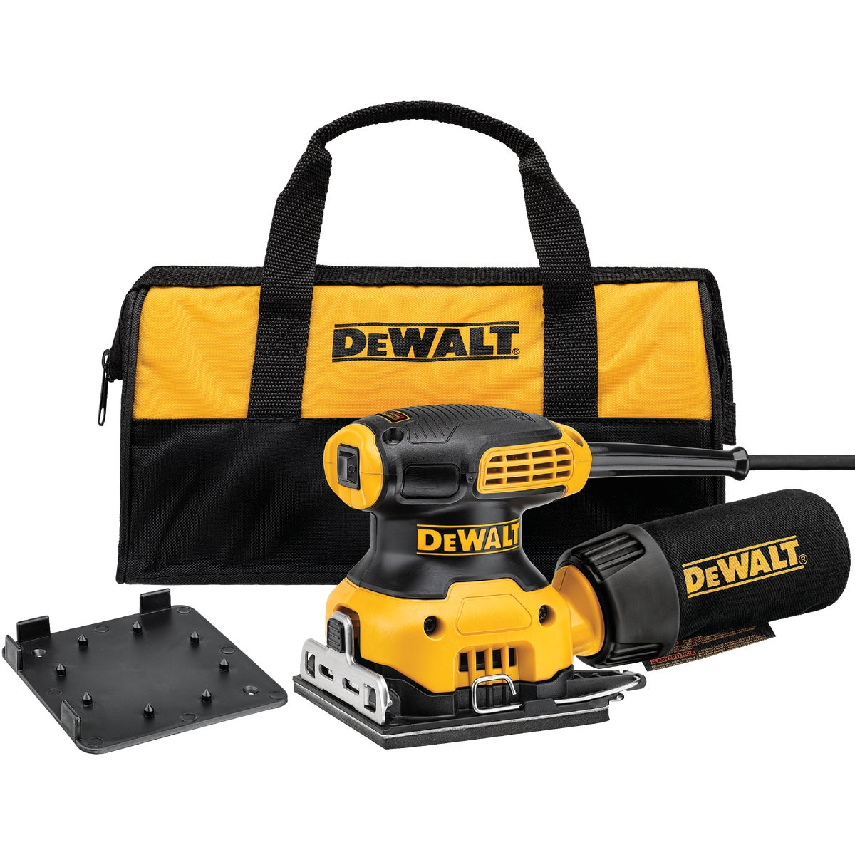 1/4 SHEET PALM SANDER - D26441K by DeWalt