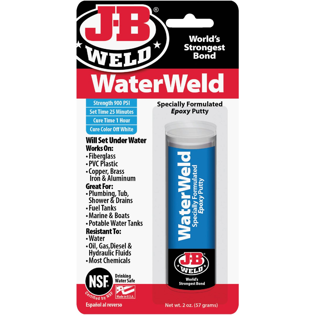 2OZ WATER WELD - 8277 by J B Weld Co