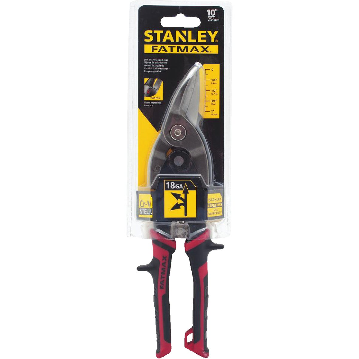 LEFT CUT SNIP - 14-562 by Stanley Tools