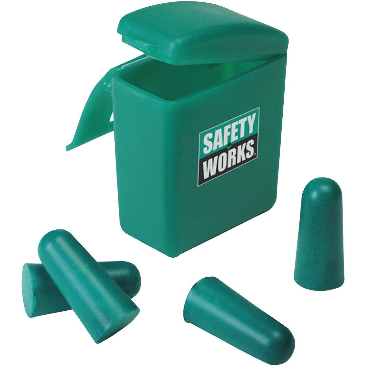 MSA Safety/InCom 2PR FOAM EARPLUGS W/CASE 818074