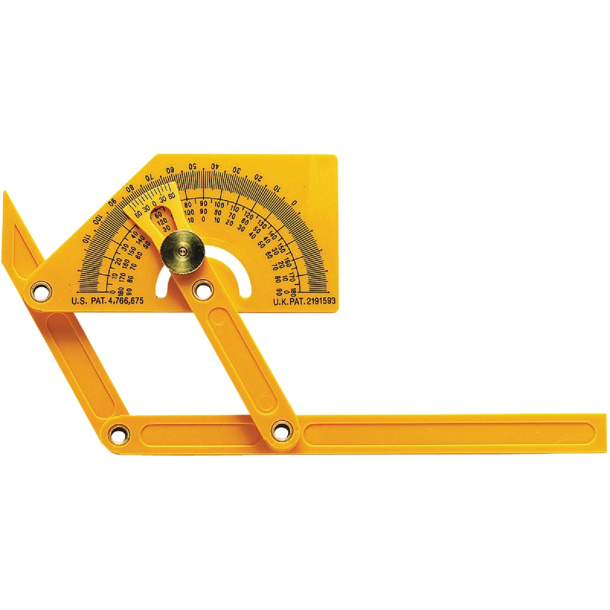 PLASTIC PROTRACTOR - 29 by Gen Tools Mfg