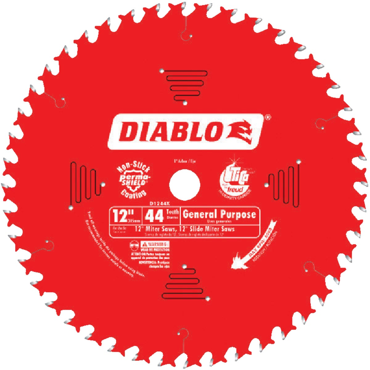 "12"" 44T SAW BLADE - D1244X by Freud Inc"