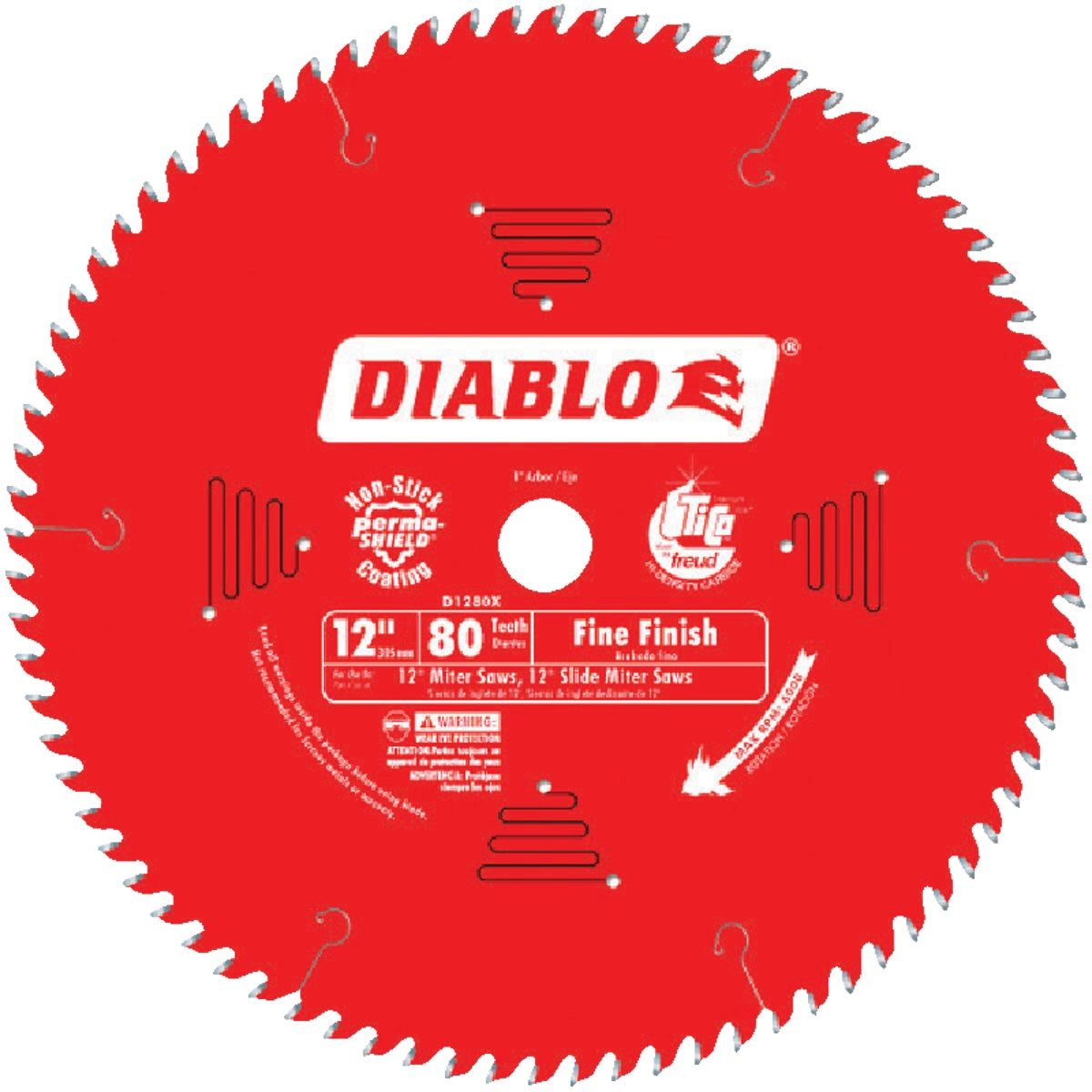 "12"" 80T SAW BLADE - D1280X by Freud Inc"