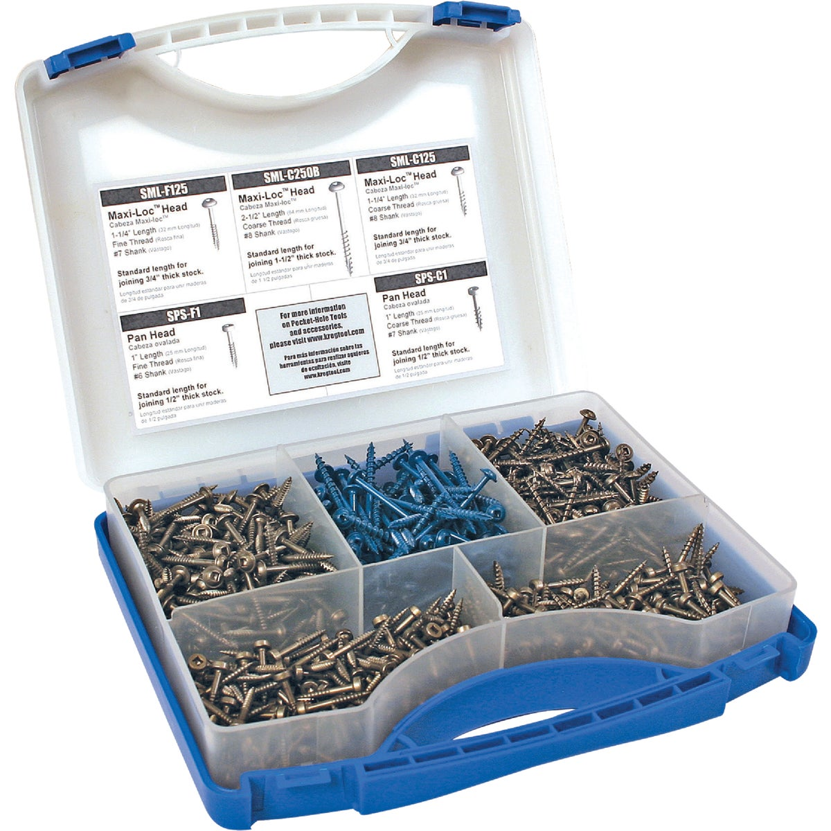 POCKET SCREW KIT - SK03 by Kreg Tool Company
