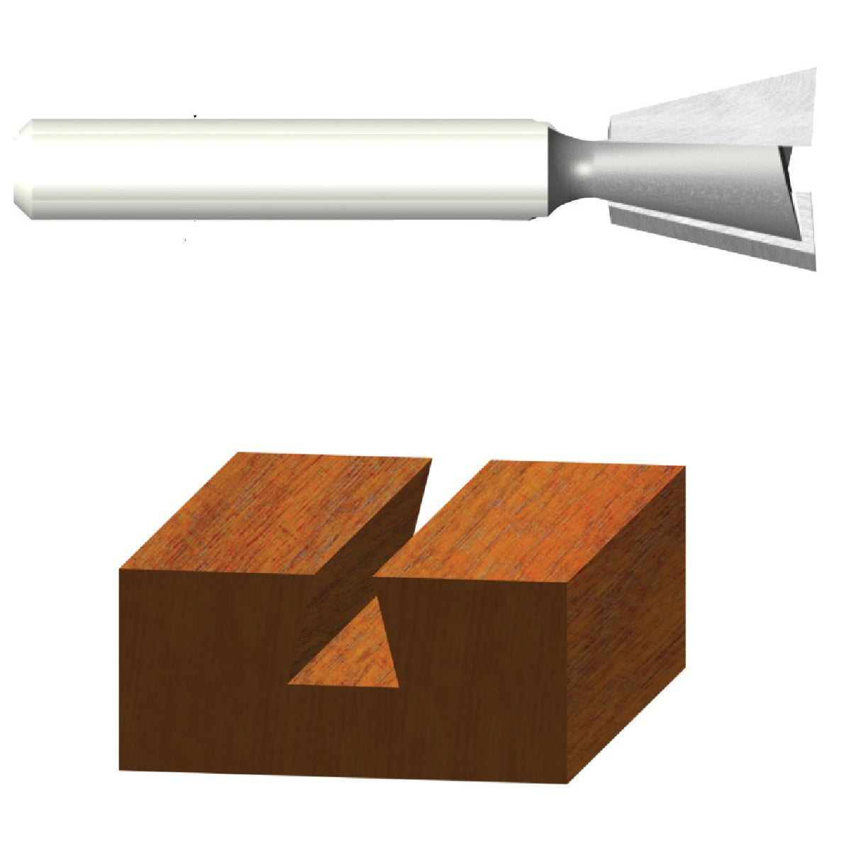 """9/16""""DOVETAIL ROUTER BIT - 23115 by Vermont American"""