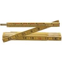 Cooper Tools 6' WOOD FOLDING RULE X46F