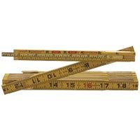 Cooper Tools 6' WOOD FOLDING RULE HX46
