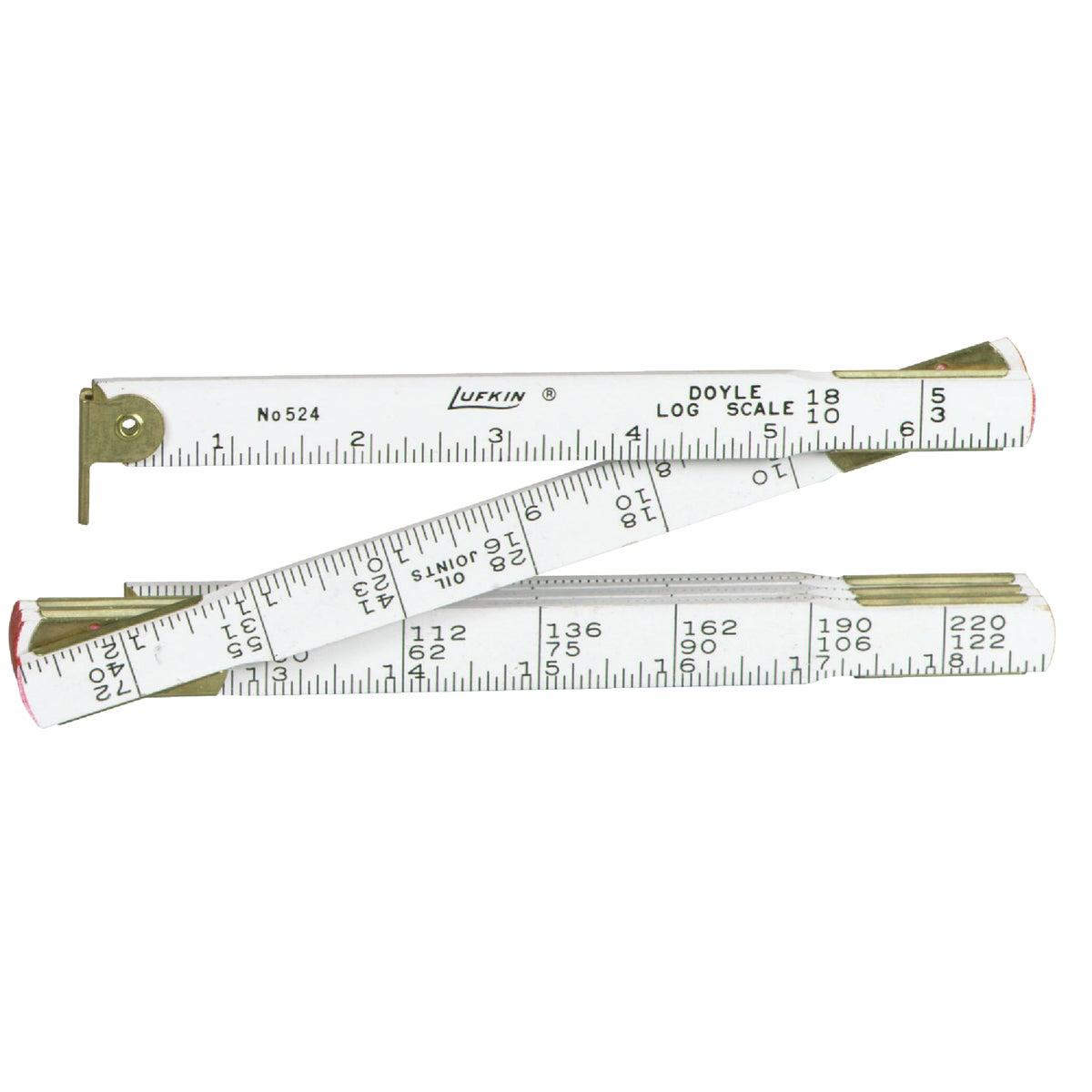 4' LOG SCALE RULE - 524N by Apex Tool Group
