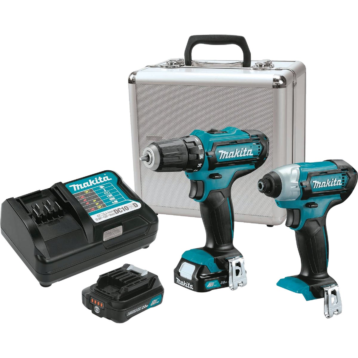12V DRILL/IMPACT KIT - LCT209W by Makita Usa Inc