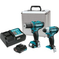 Makita 10.8V DRILL/IMPACT KIT LCT203W