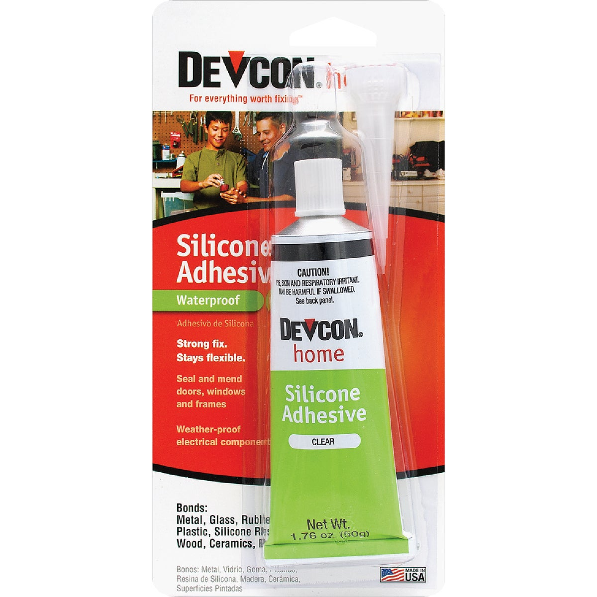 1OZ SILICONE ADHESIVE - 12045 by Itw Global Brands