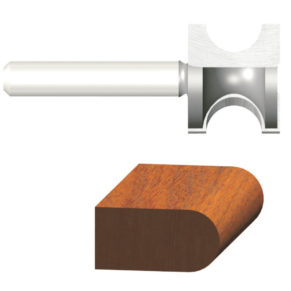 """1/8"""" BULL NOSE BIT - 23156 by Vermont American"""