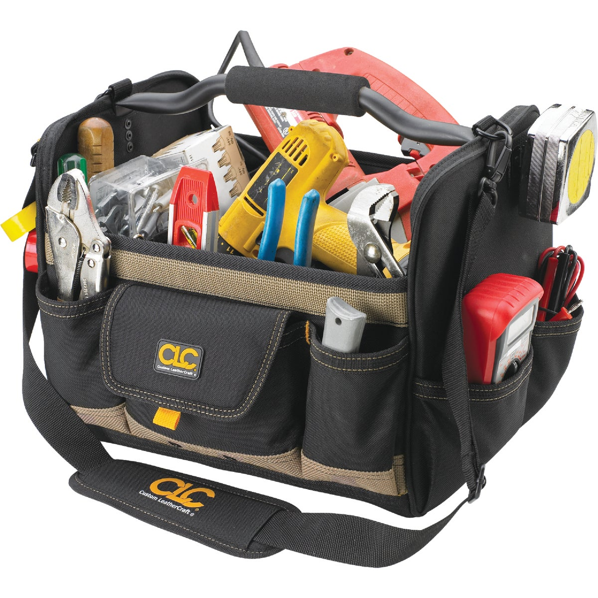 "14"" OPEN-TOP TOOL BAG - 1578 by Custom Leathercraft"