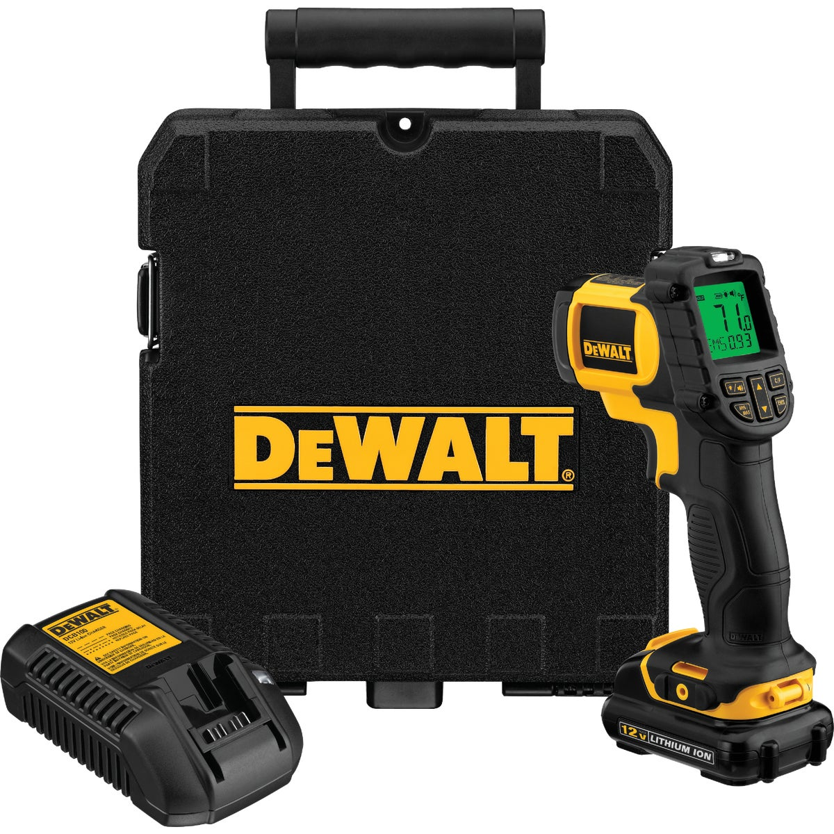12V IR THERMOMETER KIT - DCT414S1 by DeWalt