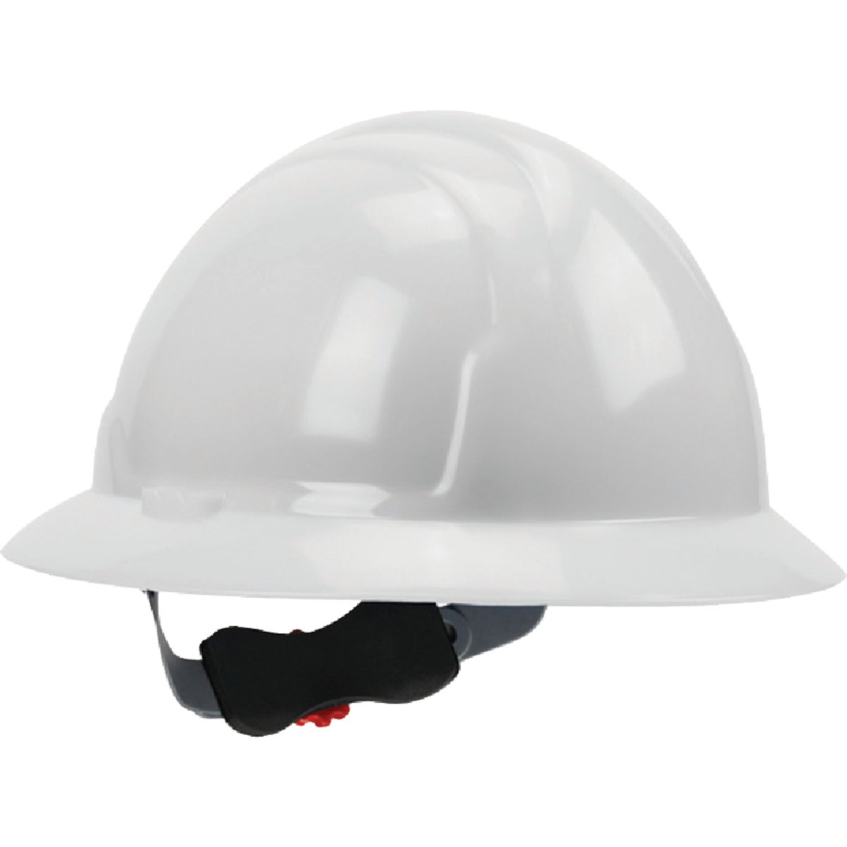 Wht Full Brim Hard Hat