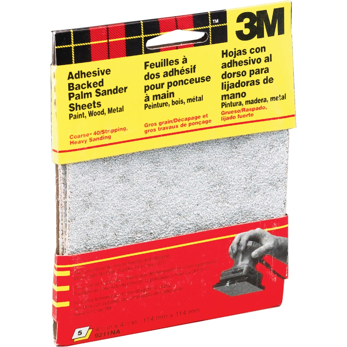 COARSE PALM SANDING KIT - 9211NA by 3m Co