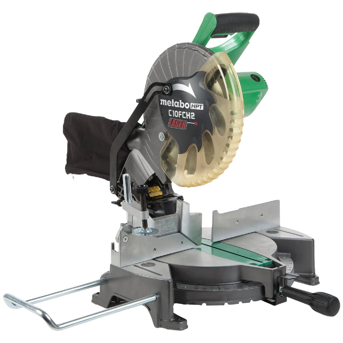 "10"" MITER SAW W/LASER - C10FCH2 by Hitachi Power Tools"