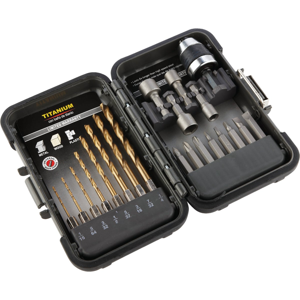 21PC DRILL/DRIVE SET