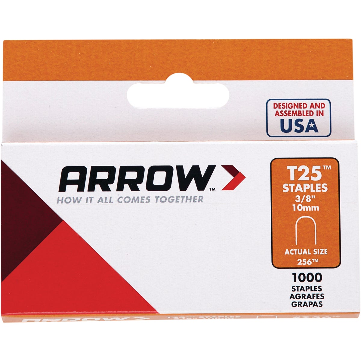 "3/8"" STAPLE - 256 by Arrow Fastener Co"
