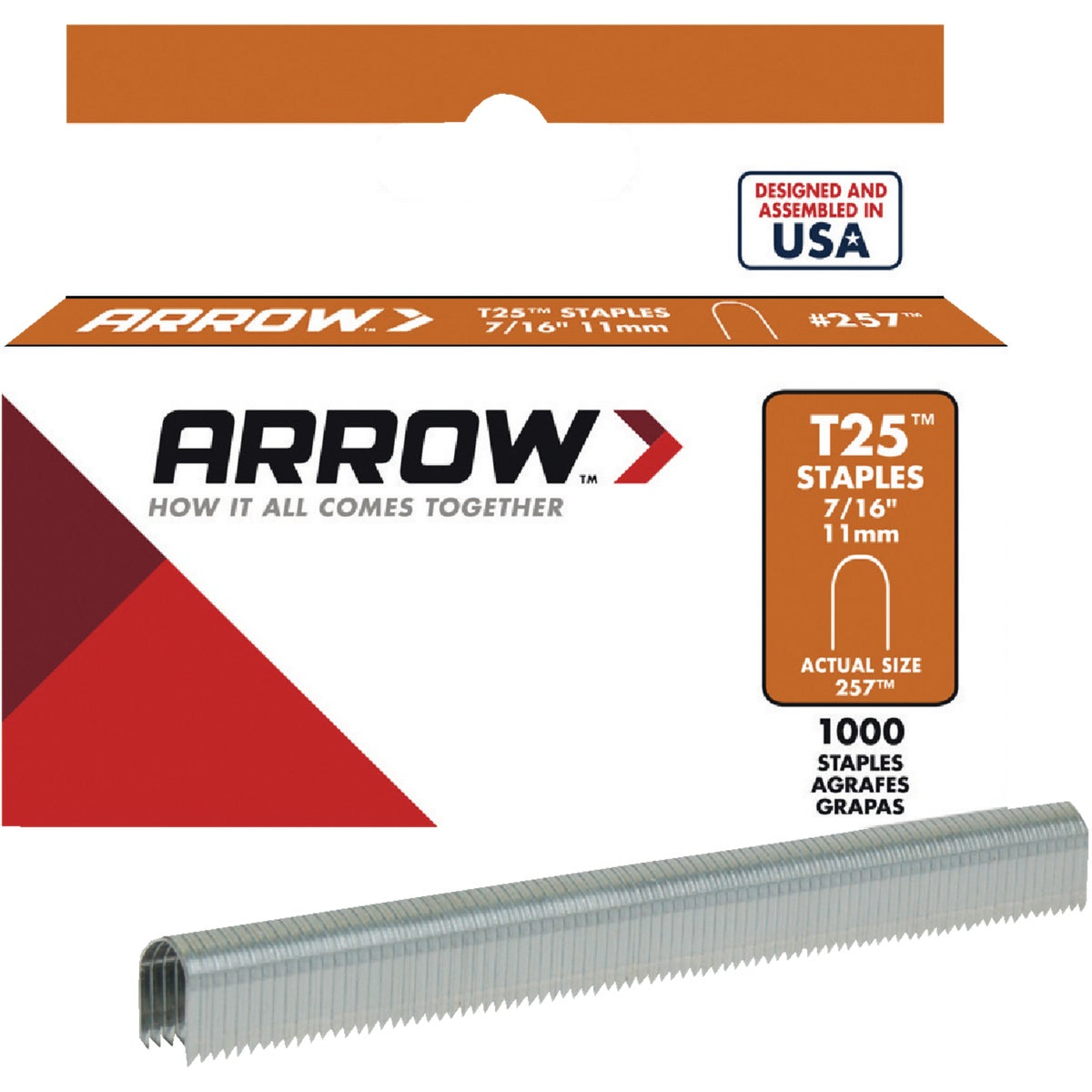 "7/16"" STAPLE - 257 by Arrow Fastener Co"