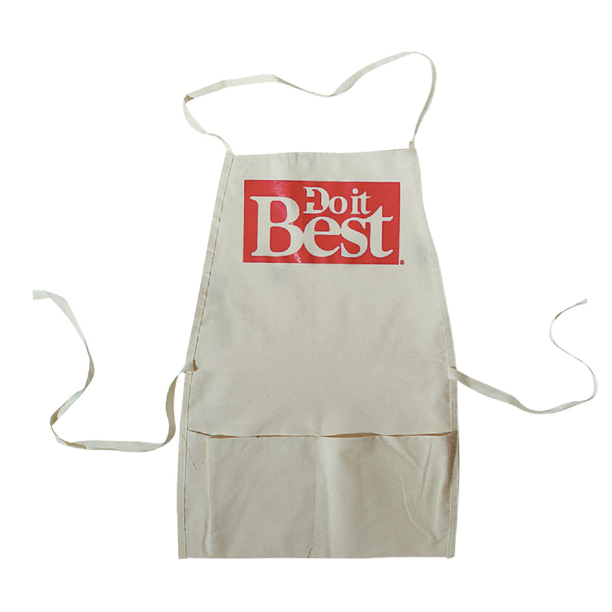 WHITE BIB APRON - 323055 by Custom Leathercraft