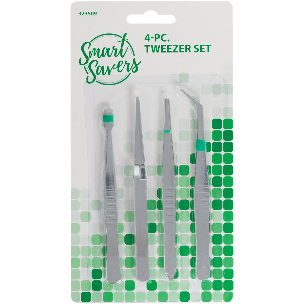 4PC TWEEZER SET - HW077 by Do it Best
