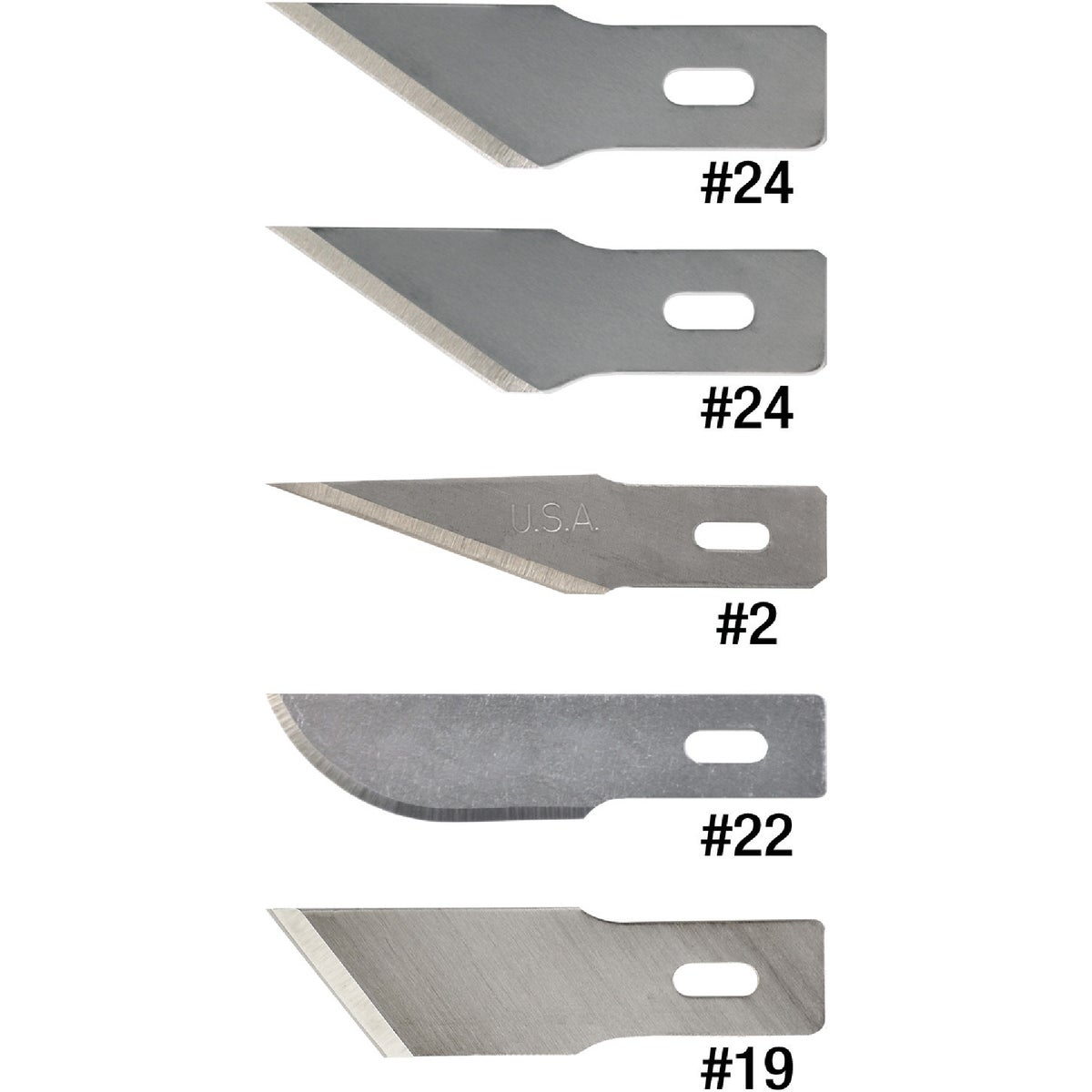 HOBBY BLADE ASSORTMENT - 01-215 by Techni Edge Mfg Corp