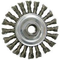 Weiler Twist Knot Angle Grinder Wire Wheel, 36055