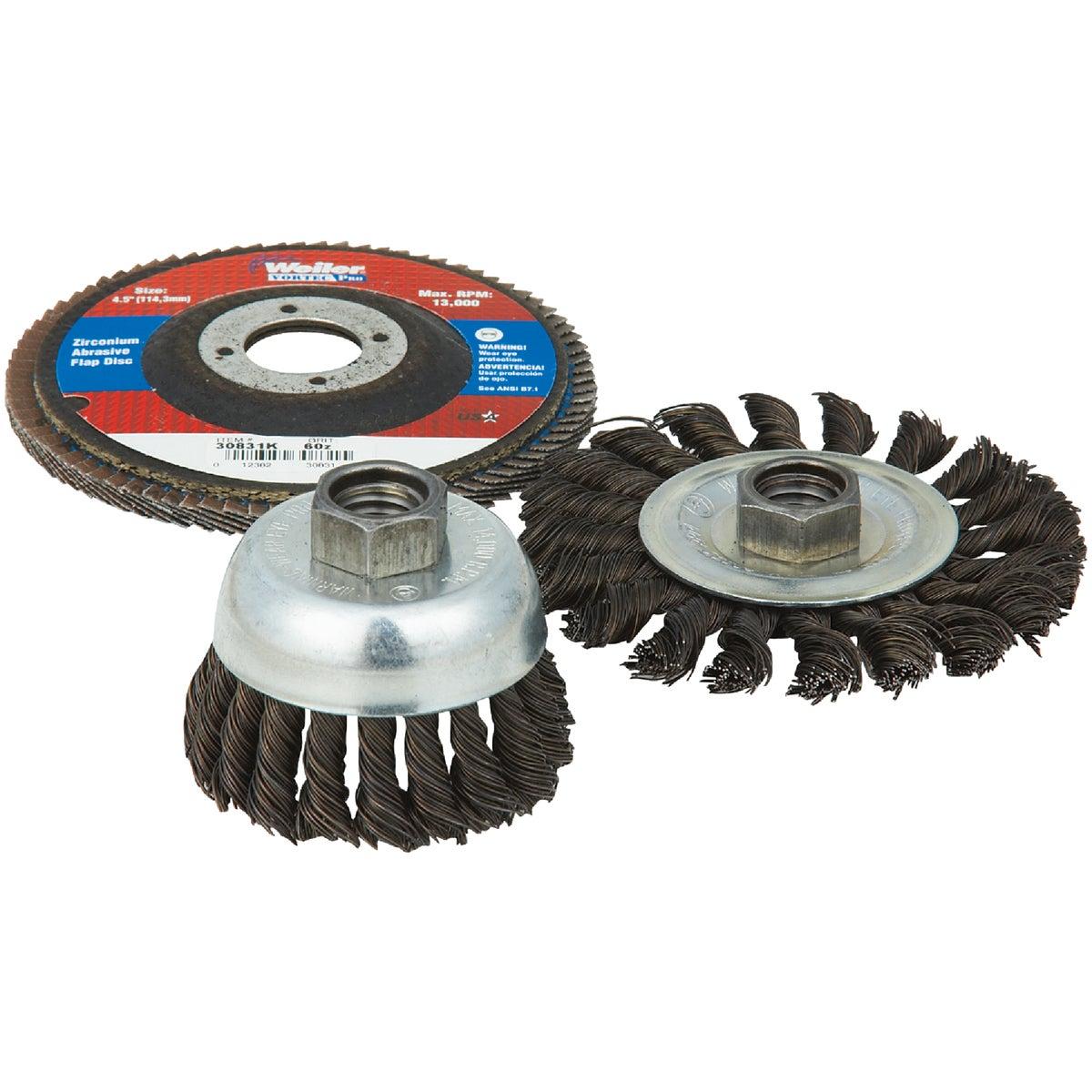 Weiler Brush 3PC MINI GRINDER KIT 36099