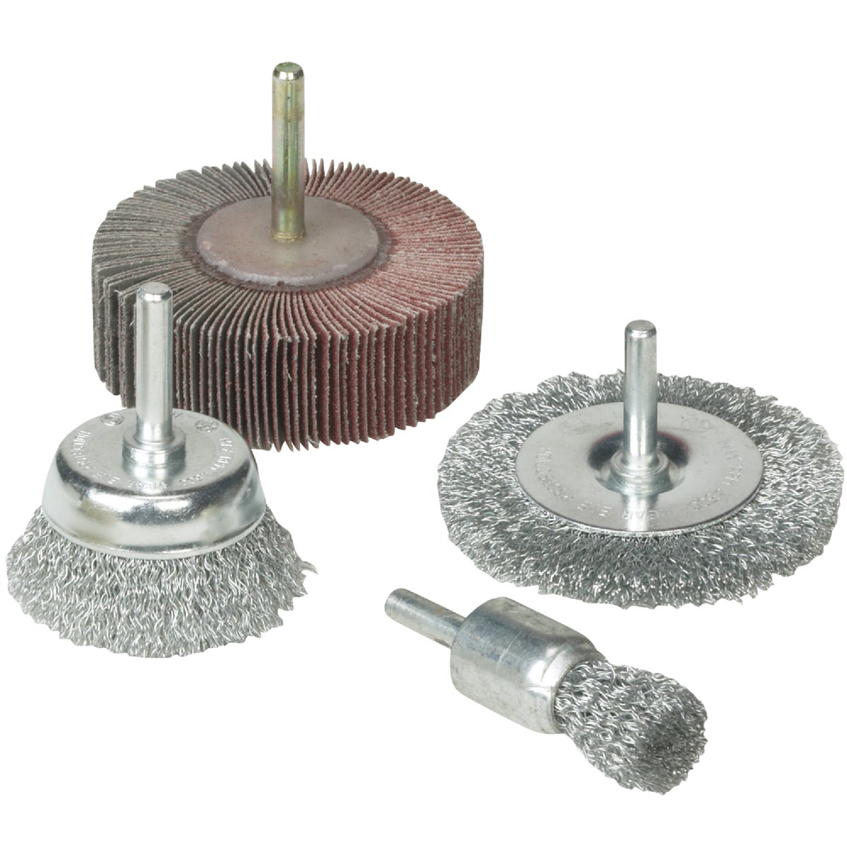 4PC DRILL ACCESSORY KIT - 36455 by Weiler Corporation