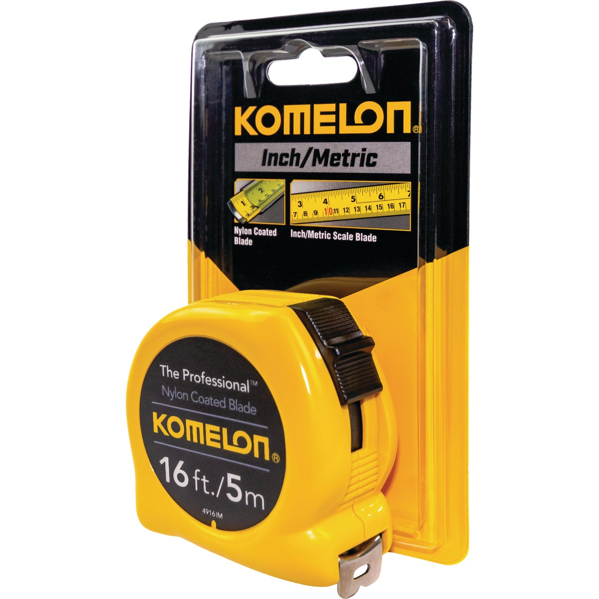 "3/4""X16'/5M TAPE RULE - 4916IM by Komelon Usa Corp"