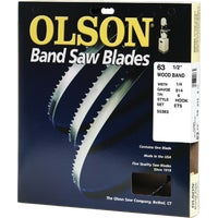 Olson Wood Cutting Band Saw Blade, WB55363BL