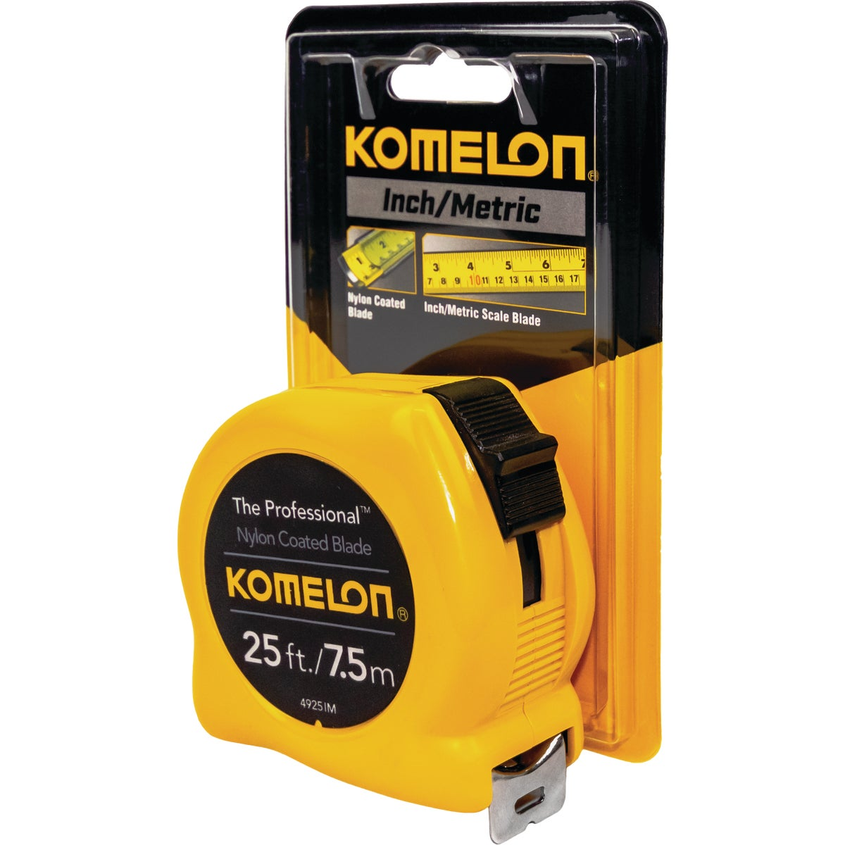 "1""X25'/7.5M TAPE RULE - 4925IM by Komelon Usa Corp"