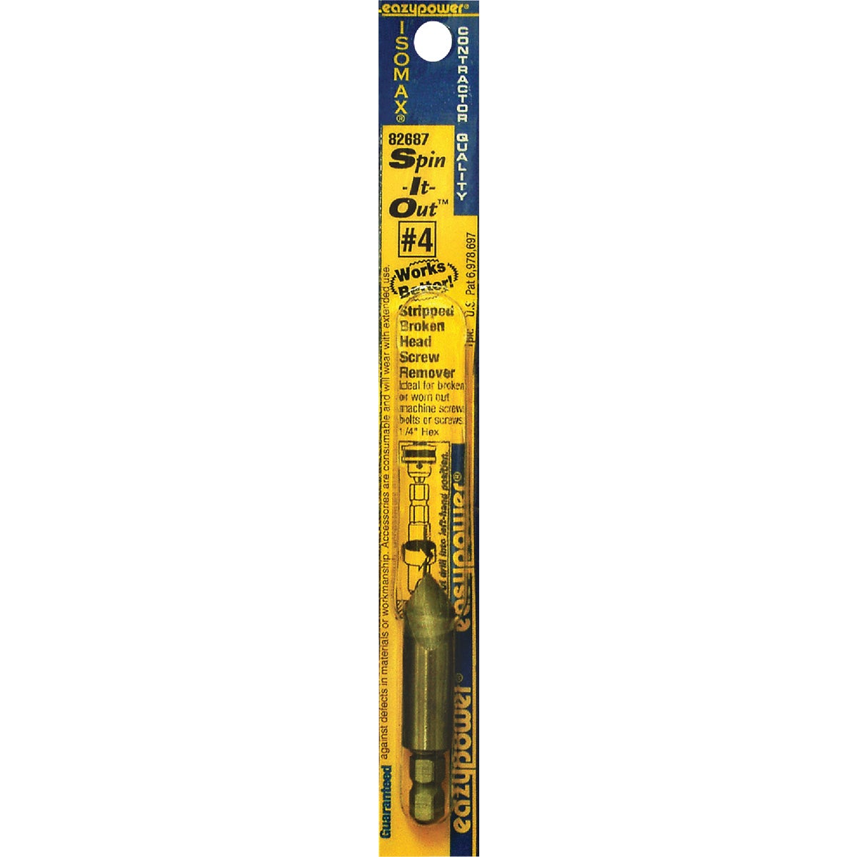 #4 SCREW REMOVER - 82687 by Eazypower Corp