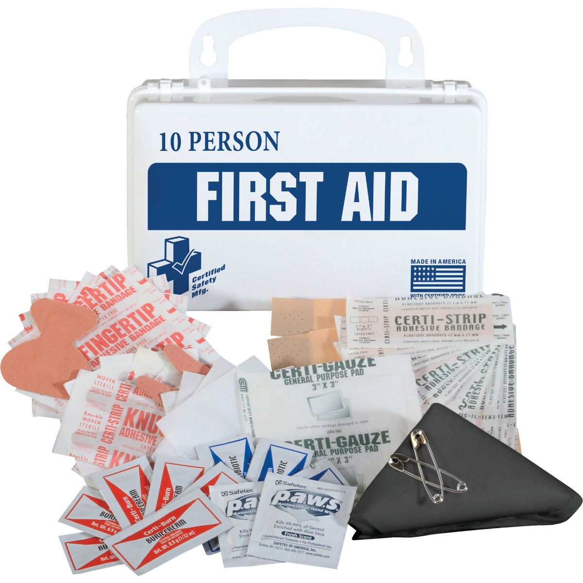 62PC FIRST AID KIT - 10068529 by Msa Safety