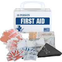 Certified Safety 10-Person First Aid Kit, K610-027