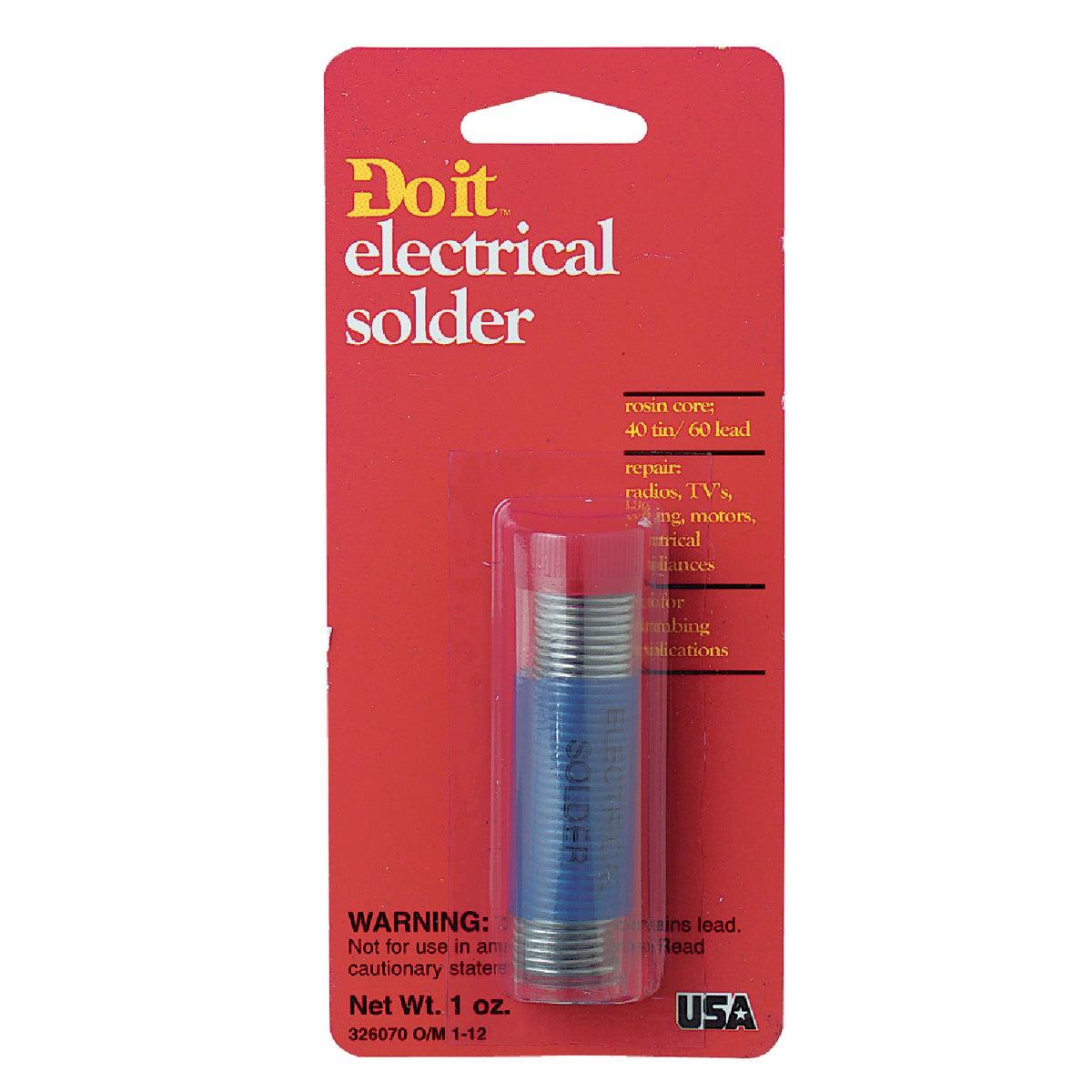 Do it 1 oz. Rosin 40% Tin, 60% Lead Solder