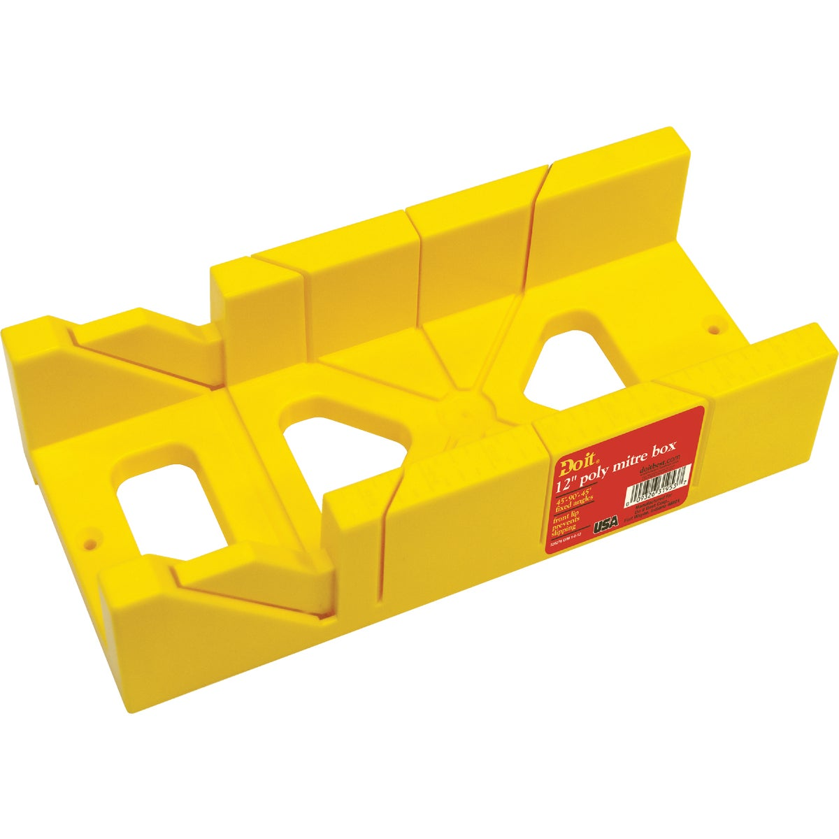 "12"" PLASIC MITER BOX"