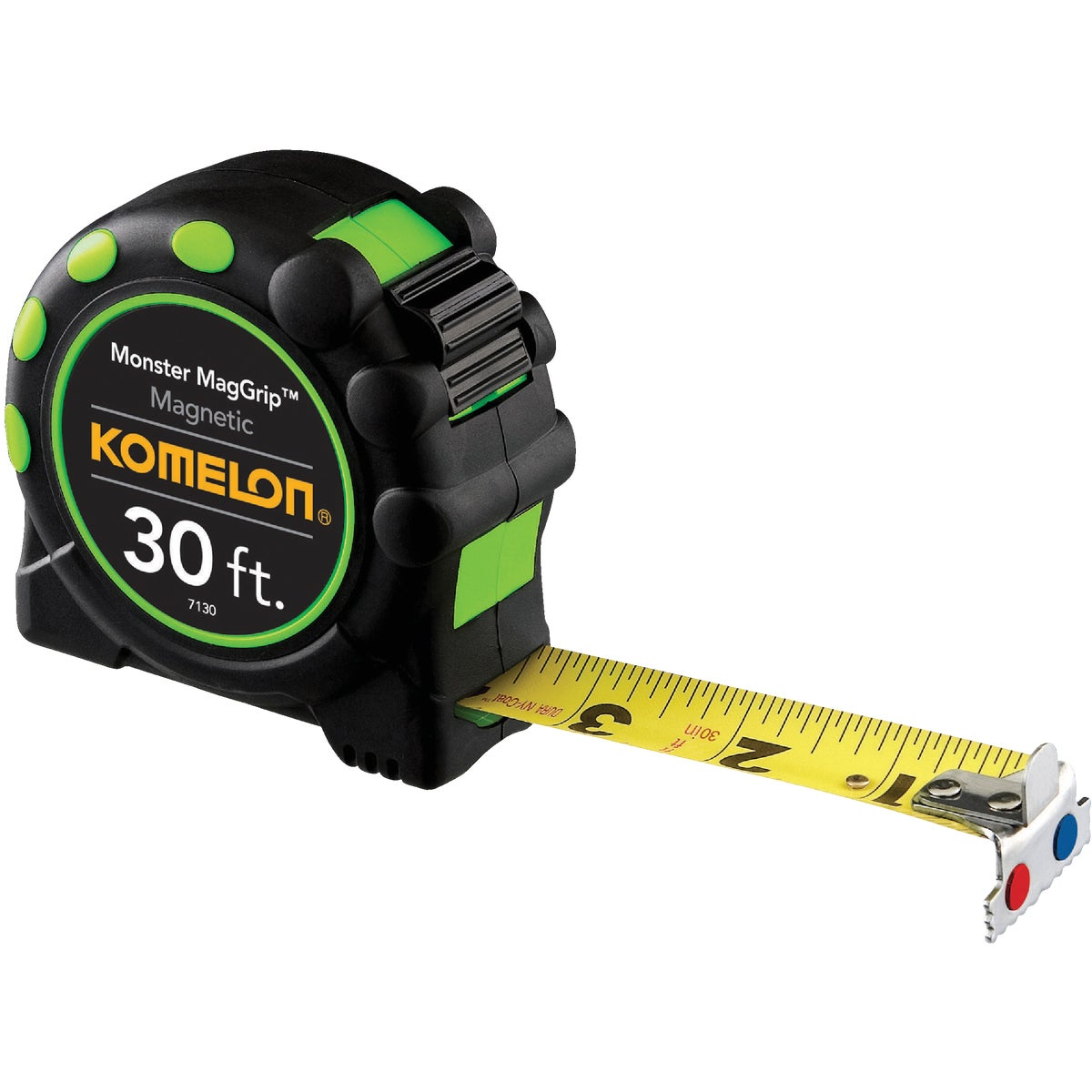 "30'X1"" MAGGRIP TAPE RULE - 7430 by Komelon Usa Corp"