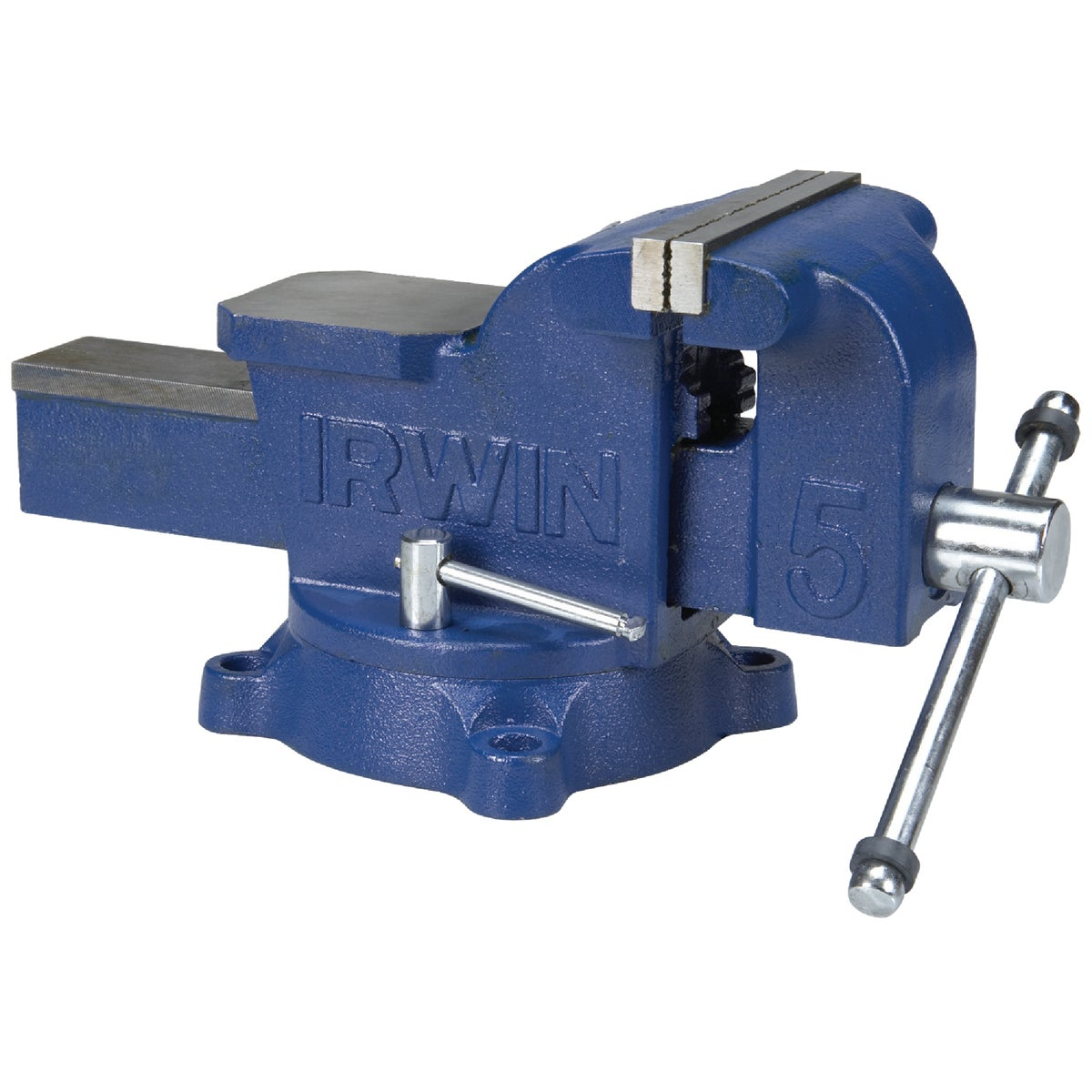 "5"" WORKSHOP BENCH VISE - 226305ZR by Irwin Industr Tool"