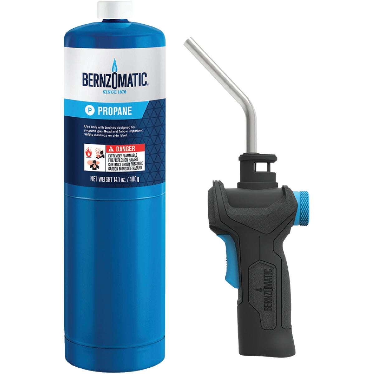 PROPANE TORCH KIT - 330887 by Bernzomatic