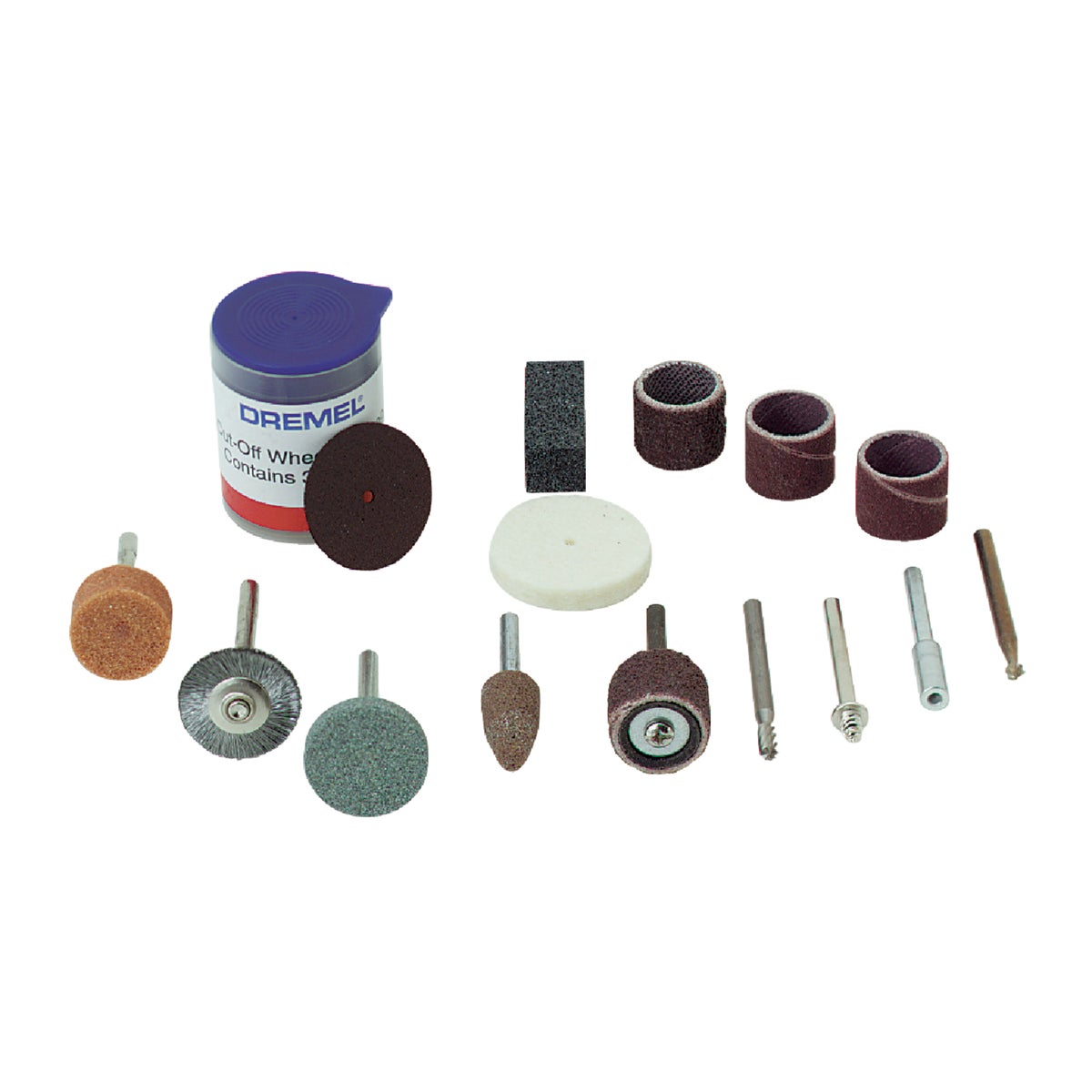 GENERAL PURPOSE BIT SET - 687-01 by Dremel Mfg Co