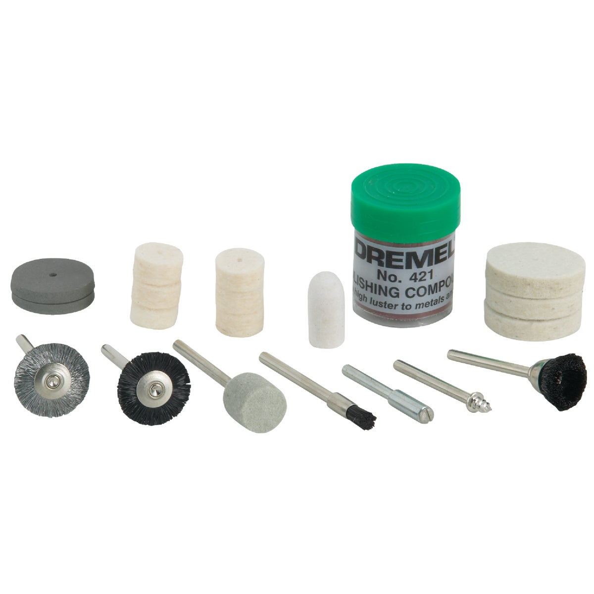 POLISHING BIT SET - 684-01 by Dremel Mfg Co