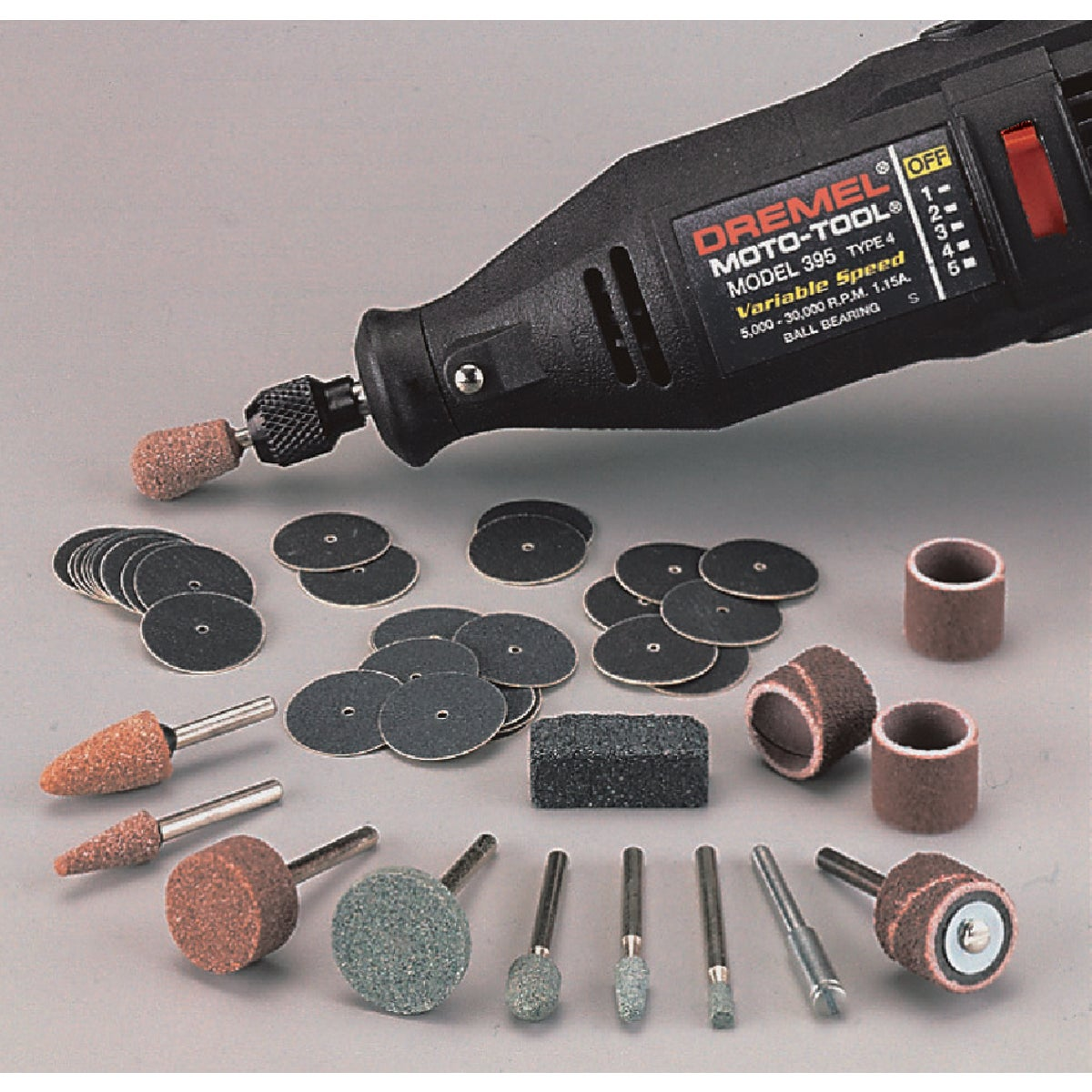 SANDING BIT SET - 686-01 by Dremel Mfg Co