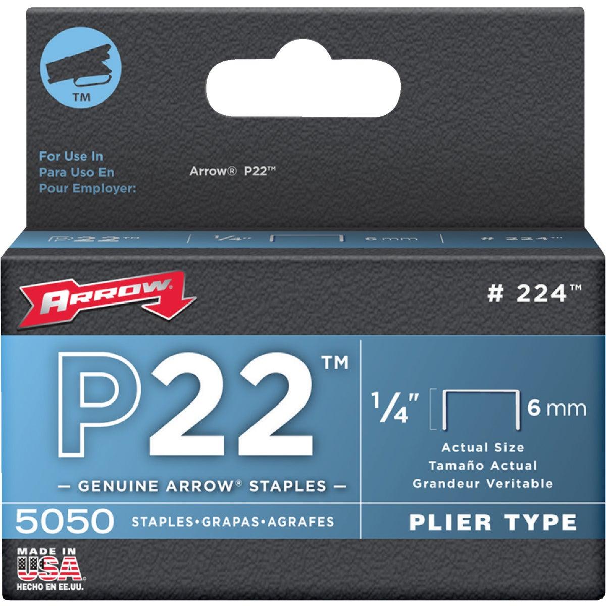 """1/4"""" STAPLE - 224 by Arrow Fastener Co"""