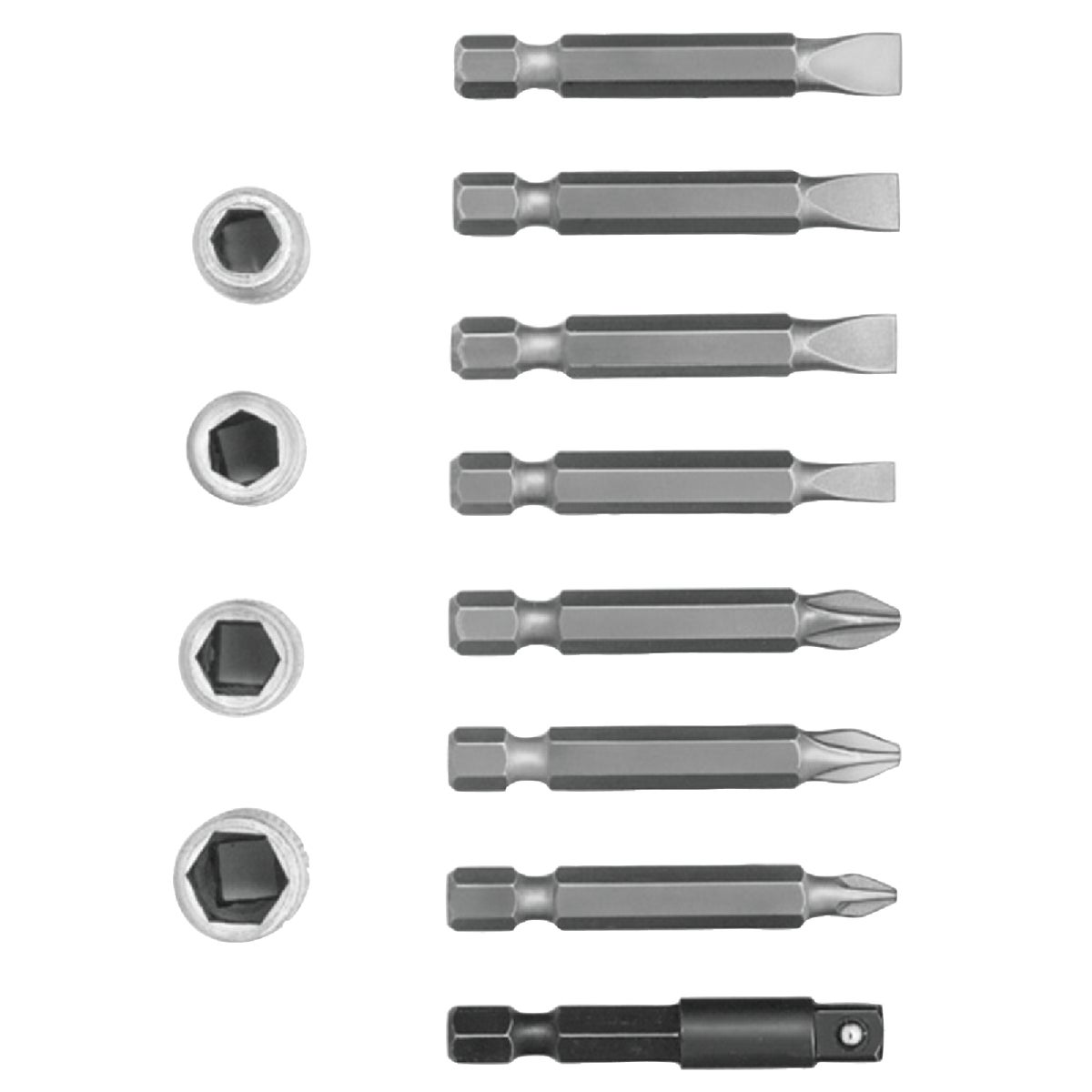 SCREW/NUT BIT SET - 3057014 by Irwin Industr Tool