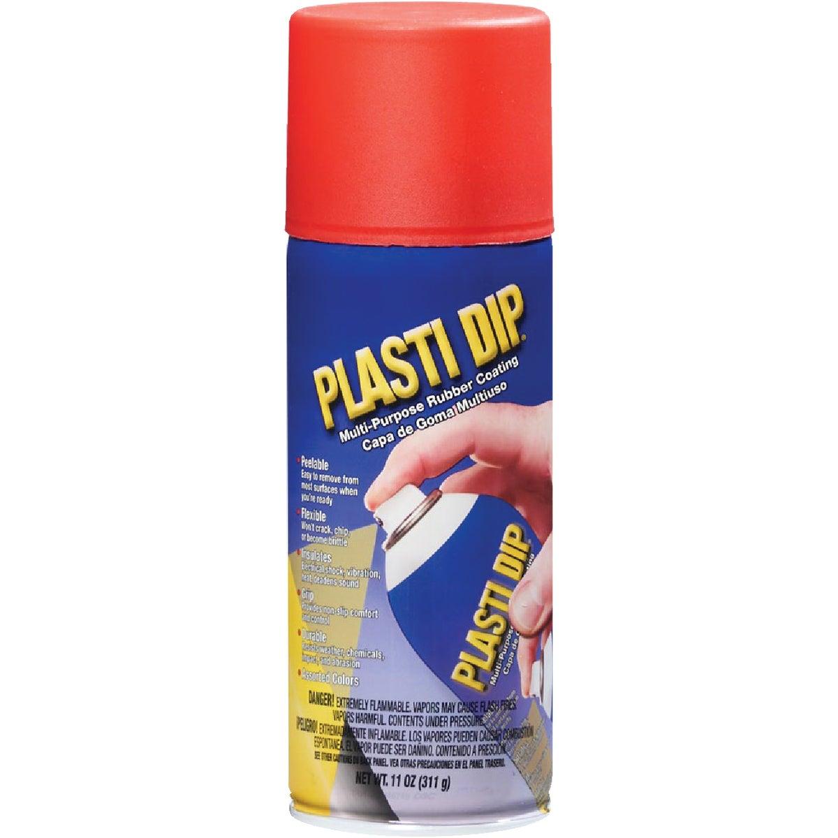 12OZ RED PLASTI-DIP - 11201 by Plastic Dip Intnl